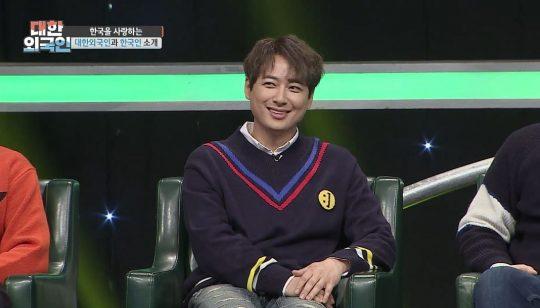 '대한외국인'에 출연한 가수 이지훈/사진= MBC에브리원 제공
