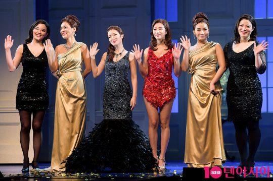 배우 정다희(왼쪽부터), 김선영, 박기영, 해나, 손승연, 최현선