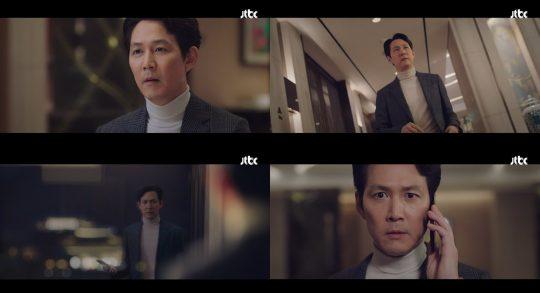 JTBC '보좌관2' 방송화면.