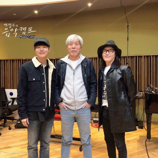 가수 정동하(왼쪽부터), 배철수, 김종서. / 제공=뮤직원컴퍼니