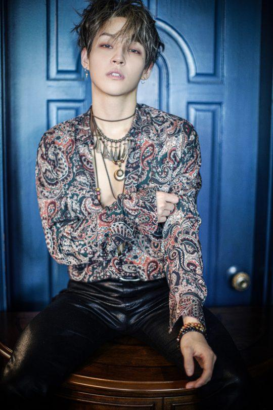 밴드 더로즈의 김우성/ 사진제공=제이앤스타컴퍼니