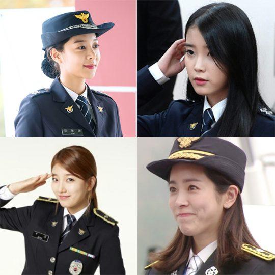 배우 설인아(왼쪽부터 시계방향), 아이유, 한지민, 수지 / 사진= 각 소속사 제공