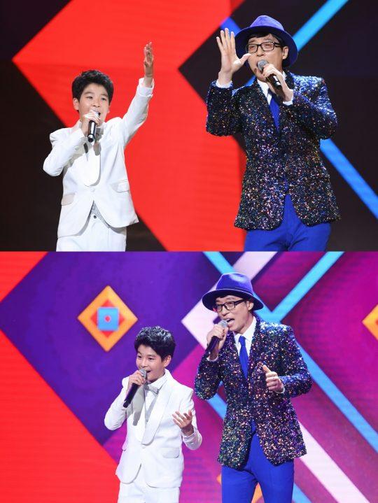 '영재발굴단' 정동원(왼쪽), 유산슬./ 사진제공=SBS