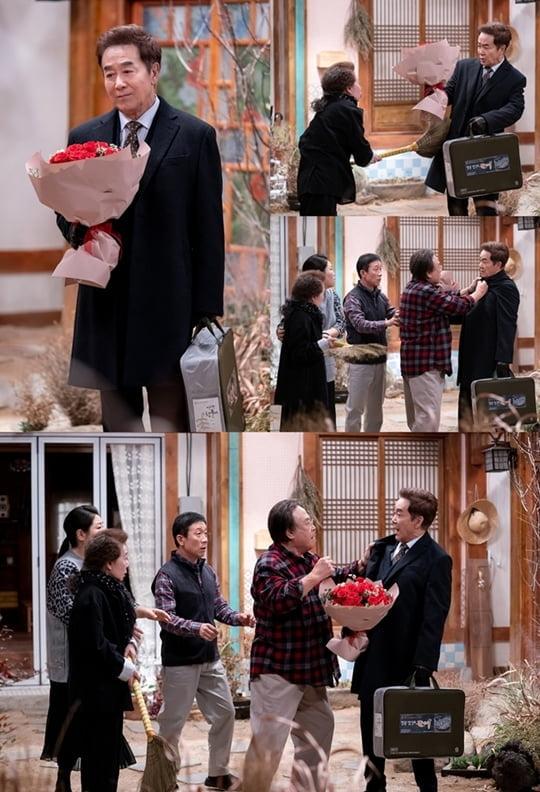 한진희, 주현(사진=팬엔터테인먼트)
