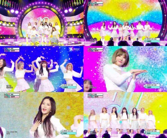 '쇼!음악중심' 네이처 / 사진=MBC 방송화면
