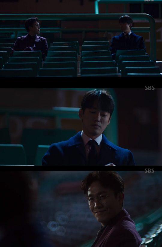 '스토브리그' 남궁민, 오정세 / 사진=SBS 방송화면