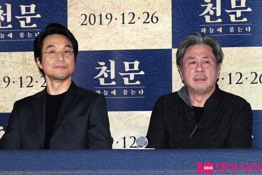 배우 한석규(왼쪽), 최민식
