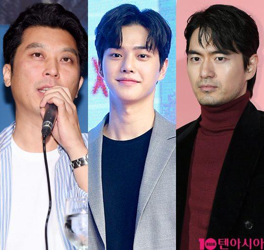 이응복 감독(왼쪽부터), 배우 송강, 이진욱. /사진=텐아시아DB