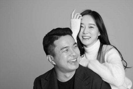 정준·김유지 커플/사진=정준 인스타그램