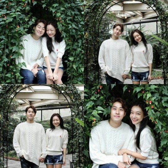 배우 김지철과 신소율./사진제공=모먼트글로벌