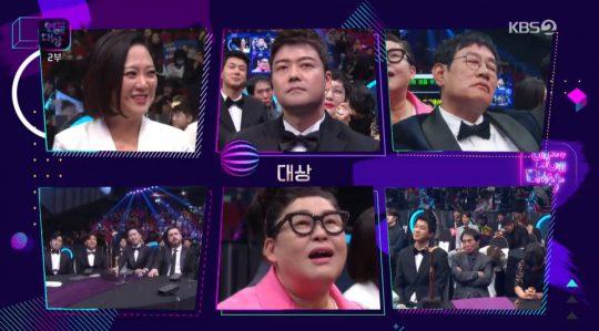 '2019 KBS 연예대상' 대상 후보자들. /사진=KBS