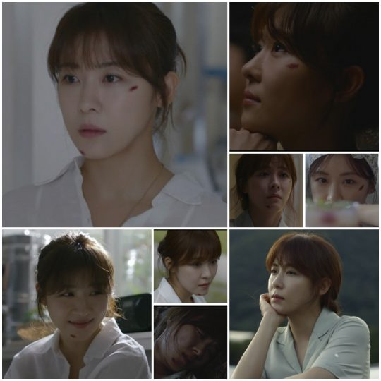 '초콜릿' 하지원. /사진=JTBC 방송 캡처