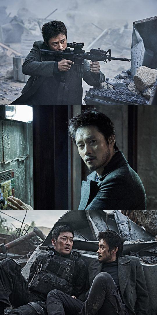 영화 '백두산' 스틸. /사진제공=CJ엔터테인먼트
