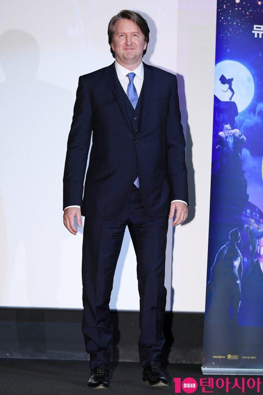 톰 후퍼 감독이 23일 오전 서울 한강로동 CGV용산아이파크몰에서 열린 뮤지컬 영화 '캣츠' 내한 공식 기자간담회에 참석했다. /이승현 기자 lsh87@