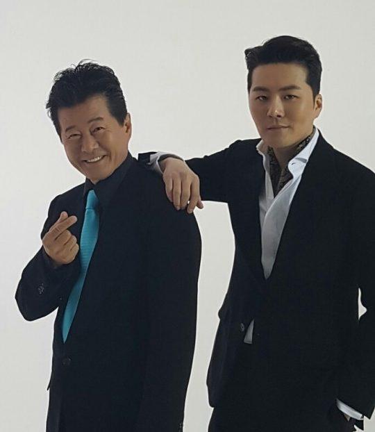가수 태진아(왼쪽), 이루. / 제공=진아엔터테인먼트