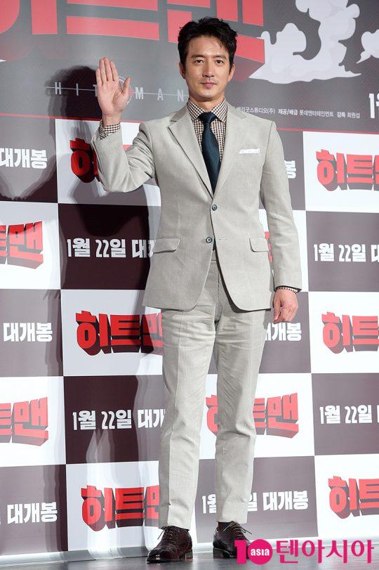 영화 '히트맨'에서 국정원 악마교관 덕규로 열연한 배우 정준호./ 서예진 기자 yejin@