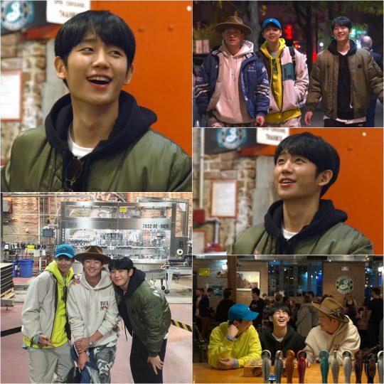 '정해인의 걸어보고서' 스틸컷./사진제공=KBS2