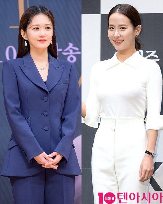 배우 장나라(왼쪽), 조여정. /사진=텐아시아DB