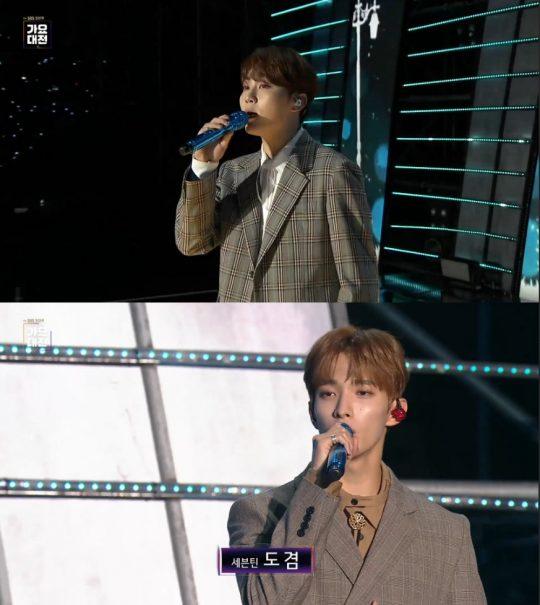 '2019 SBS 가요대전' 방송화면. /