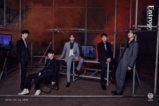 밴드 DAY6(데이식스) / 사진제공=JYP엔터테인먼트