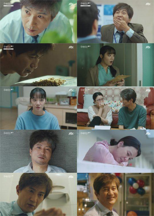 JTBC '루왁인간' 방송화면. /