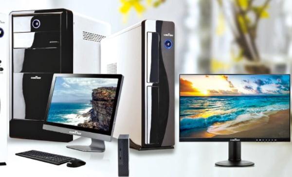 PC제조 및 유통, 유지보수 전문업체인 (주)컴트리의 제품 라인업.