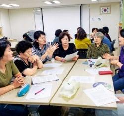 사회적협동조합 강북나눔돌봄센터에서 진행하는 발달장애인 주관 활동 서비스 사업.