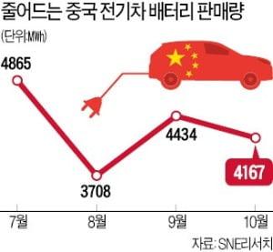 한국산 전기차 배터리, 중국 정부 보조금 받는다