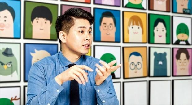 조정호 벤디스 대표가 공유주방 음식을 회사로 배달해주는 서비스를 설명하고 있다.  /벤디스 제공
