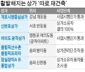 """""""아파트 빼고 가자""""…상가 '따로 재건축' 활발"""