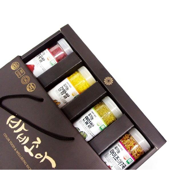 김세원 바비조아 대표가 개발한 유기농 기능성 쌀 제품 모습