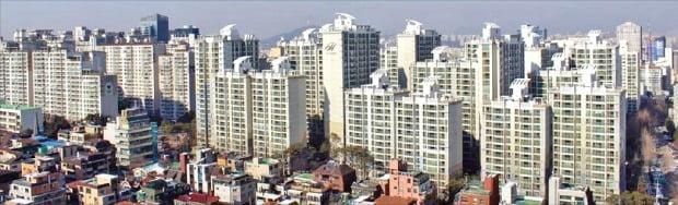 분양가 상한제 등으로 주택 공급이 줄면서 부동산 전문가 10명 중 9명은 내년에도 서울 아파트값이 오를 것으로 내다봤다. 신축 아파트를 중심으로 가격 상승세가 가파른 서울 강남구 일대.   /한경DB