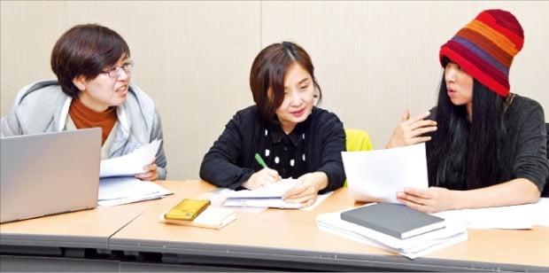 왼쪽부터 서영인·정이현·정혜윤 심사위원
