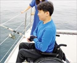 바다낚시 하는 신현오 대표