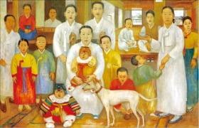 배윤성의 '가족도'.