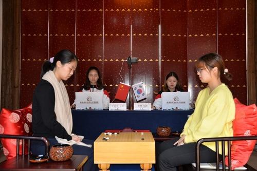 최정, 중국 바둑 랭킹 1위 왕천싱 연파하고 오청원배 우승