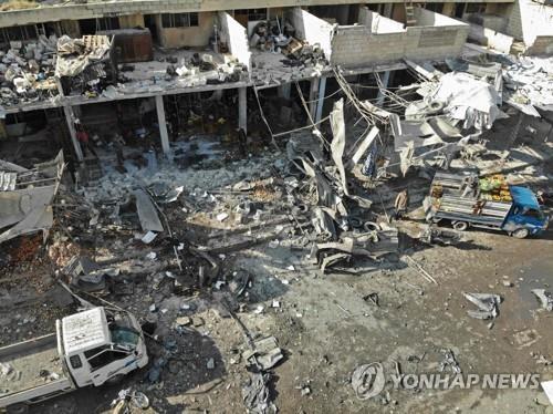 시리아 북서부서 정부군·러시아군 공격으로 민간인 15명 사망
