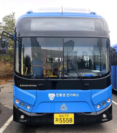 당진서 친환경 전기버스 누빈다…3대 운행 시작