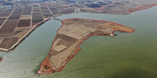 아산 안성천 쌀조개섬 수변 생태공원화…2026년 완공