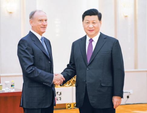 """미중 갈등 속 시진핑 """"미국, 중국·러시아 내정 간섭해"""""""