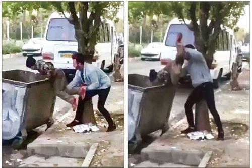 이란서 아프간 난민 소년 쓰레기통에 처박은 남성 구속