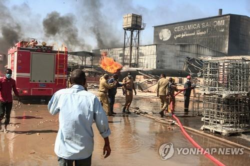 """아프리카 수단서 공장화재…""""최소 16명 사망·90명 부상"""""""