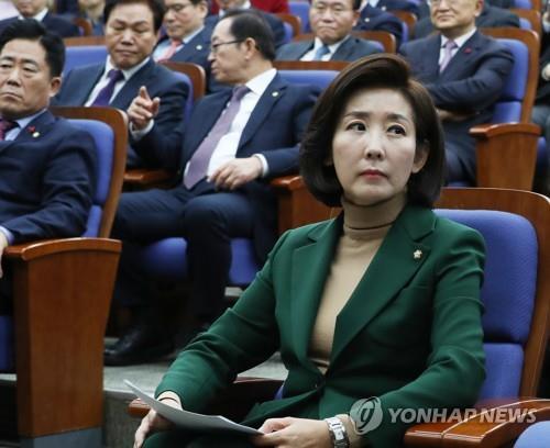 한국당 '원내사령탑 교체', 패스트트랙 정국 변수 되나