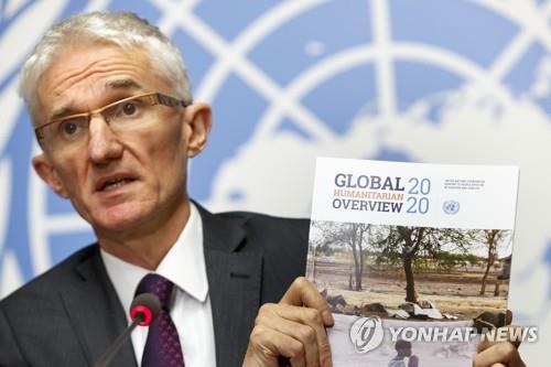 """유엔 """"내년 1억6천만명 인도적 지원 필요""""…예멘이 가장 심각"""