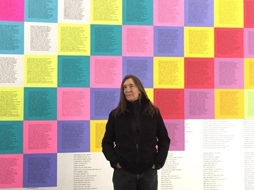 한강·김혜순 詩가 미국 개념미술 거장 작품에