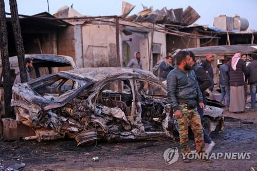 터키 장악한 시리아 북동부서 차량 폭탄 테러…2명 사망
