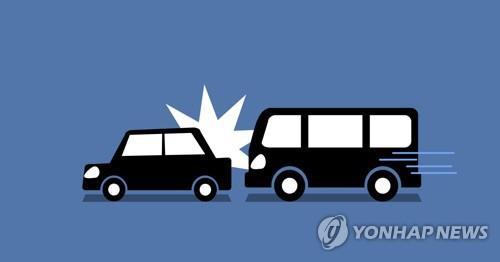천안논산고속도로서 3중 추돌…2명 다쳐