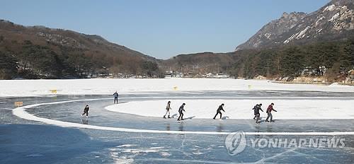 산정호수서 즐기는 겨울 축제 '윈터페스타' 9일 개막