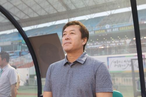 프로축구 K리그2 안산 임완섭 감독 사퇴