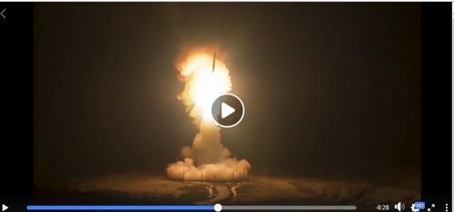 美공군, '北 ICBM 발사' 가상영상 공개…요격미사일 대응도